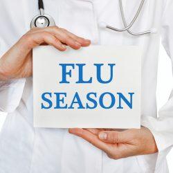 インフルエンザ注意